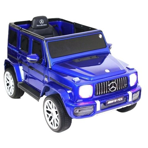 Купить RiverToys Автомобиль Mercedes-Benz G63 T999TT, Blue-Glanec, Электромобили