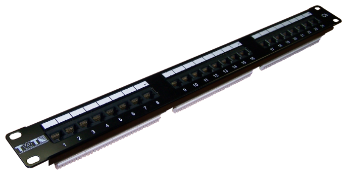 Патч-панель Lanmaster TWT-PP24UTP/6