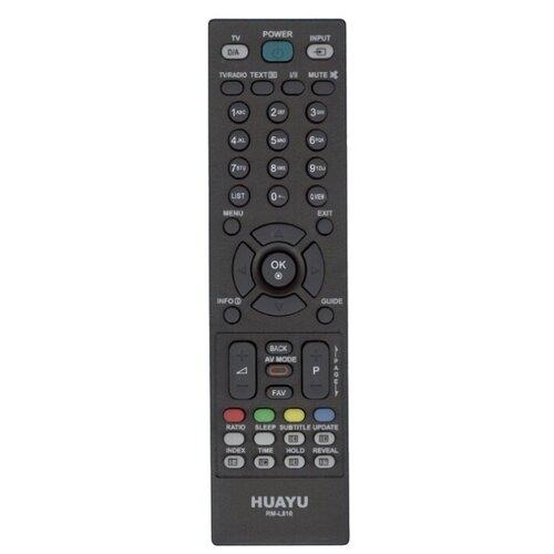 Фото - Пульт ДУ Huayu RM-L810 для телевизоров LG черный 2 пульт ду huayu rm 836c для для телевизоров philips rc1205b 30063555 rc0770 rc19036002 rc19036001 rc19042001 серый
