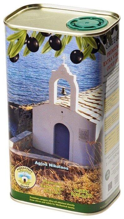 Monastery olives Масло оливковое, жестяная банка