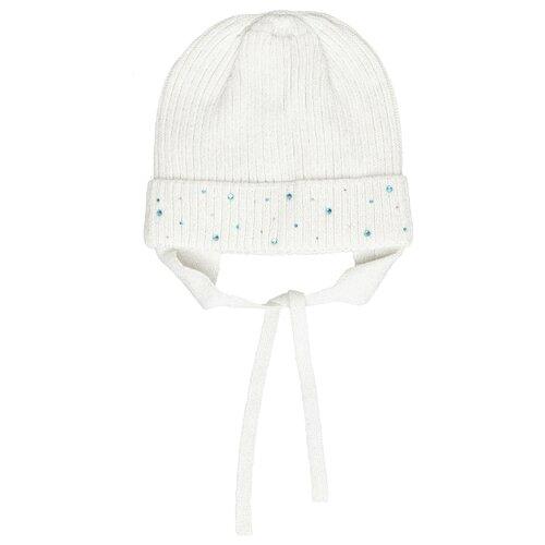Купить Шапка Gulliver Baby размер 48-50, белый, Головные уборы