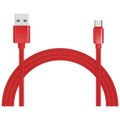 Кабель Jet.A USB - USB Type-C (JA-DC34) 1 м красный