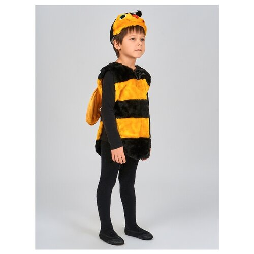 Купить Костюм Радомир Пчелка (С1031), черный, размер 104-134, Карнавальные костюмы