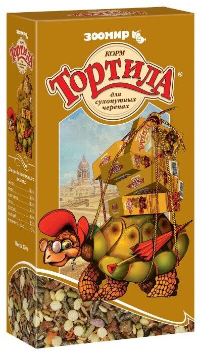 Сухой корм Зоомир Тортила для сухопутных черепах для рептилий