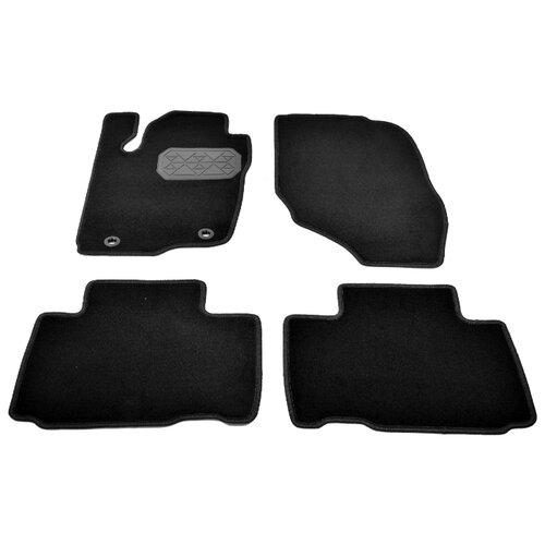 Комплект ковриков NorPlast NPA10-VTe880-463 4 шт. черный