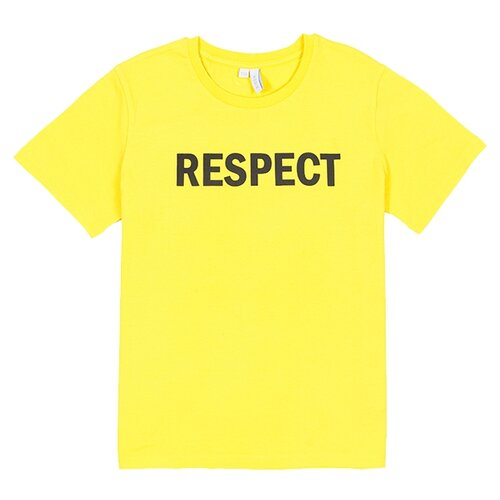 Футболка MODIS размер 158, желтый рубашка modis размер 158 белый