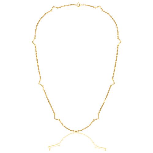 Бронницкий Ювелир Колье из желтого золота 54310096, 45 см, 3.48 г бронницкий ювелир колье из желтого золота 54319559 45 см 2 98 г