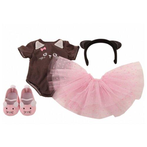 Купить Gotz Комплект одежды Little Kitten для кукол 45-50 см 3402600 розовый/коричневый, Одежда для кукол