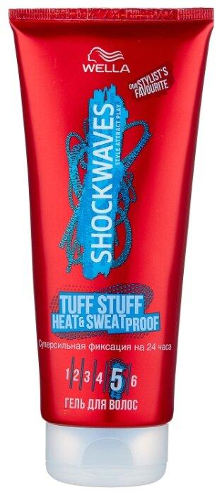 Wella SHOCKWAVES гель для волос Tuff Stuff Heat & Sweat Proof суперсильной фиксации