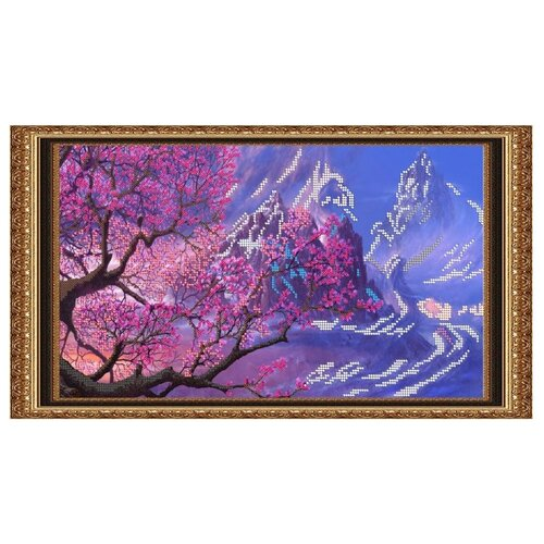 Светлица Набор для вышивания бисером Дерево желаний 38,3 х 21,6 см (054)