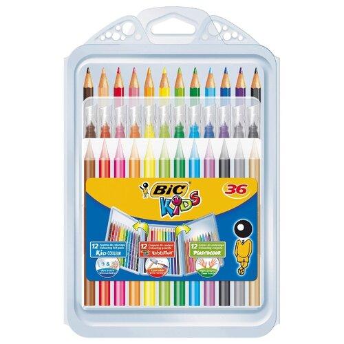 Купить BIC Kids набор для творчества 36 предметов (8877011), Наборы для рисования