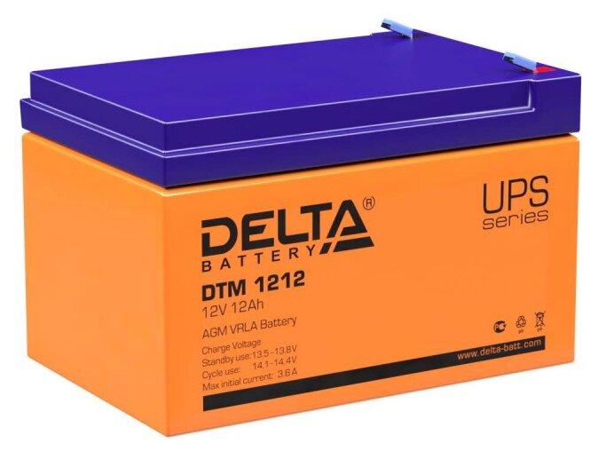 Аккумуляторная батарея DELTA Battery DTM 1212 12 А·ч