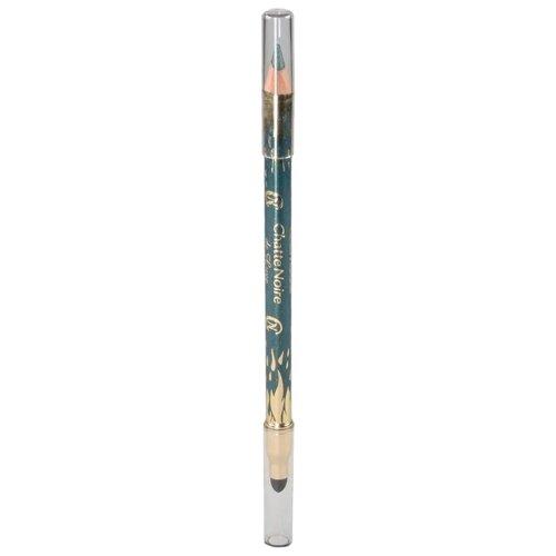 Купить Chatte Noire Карандаш для век De Luxe, оттенок №304 зеленый с золотым перламутром