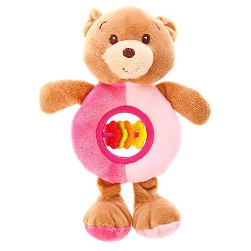 Фото - Погремушка Крошка Я Мишка 3489152 коричневый/розовый аэлита погремушка мишка баюн цвет розовый салатовый синий