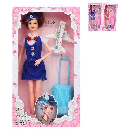 Купить Кукла 29 см Стюардесса, 1 аксесс., Наша Игрушка C195A, Наша игрушка, Куклы и пупсы