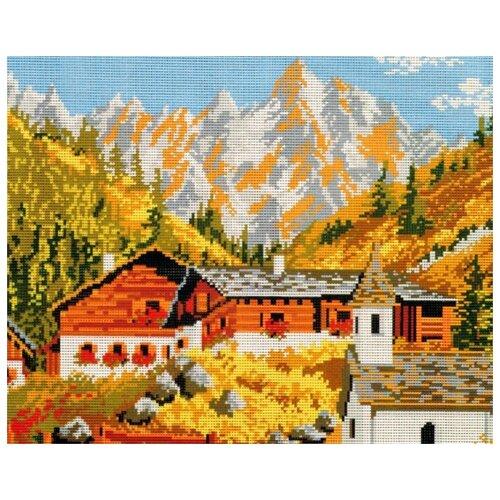 Schaefer Набор для вышивания гобелена Дом в горах 40 x 50 см (427/67) schaefer набор для вышивания 9 x 12 см 460 12