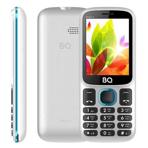 Телефон BQ 2440 Step L+ бело-синий телефон