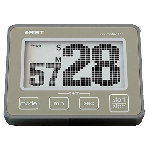 Таймер RST dt177 хаки/хром