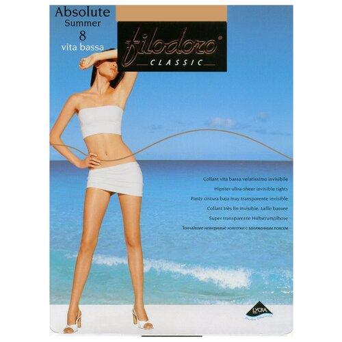 Колготки Filodoro Classic Absolute Summer Vita Bassa 8 den tea 4-L (Filodoro)Колготки и чулки<br>