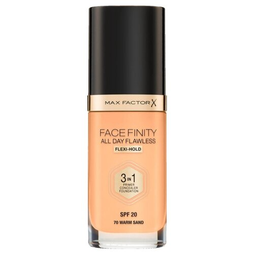 Фото - Max Factor Тональный крем Facefinity All Day Flawless 3-in-1, 30 мл, оттенок: 70 Warm Sand тональный крем для лица max factor facefinity all day flawless 3 in 1 30 мл
