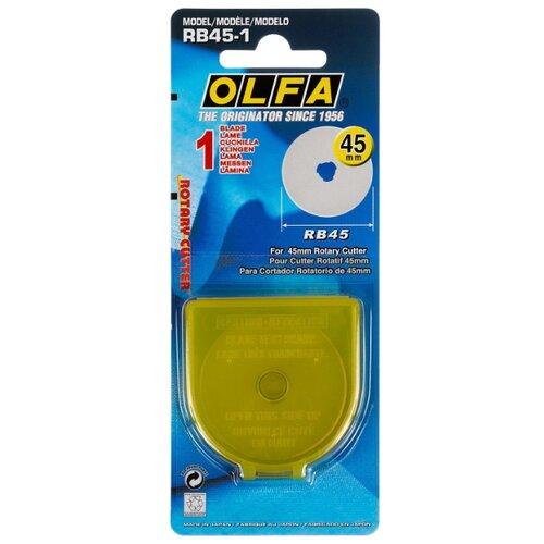 Сменное лезвие OLFA OL-RB45-1 (1 шт.) насадка на сменное лезвие heiniger oster 1 4 8 мм 1 шт