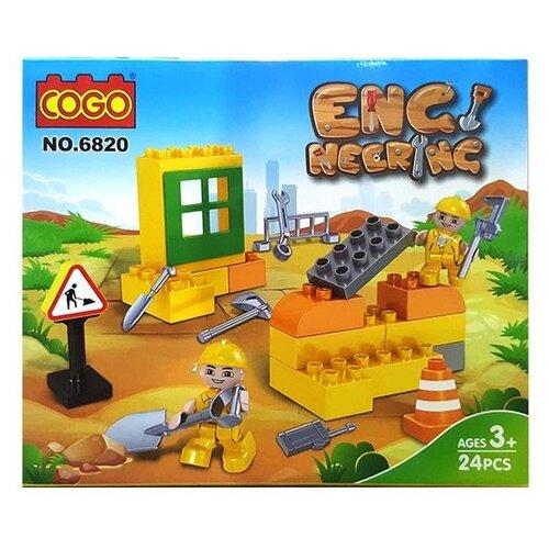 Купить Конструктор COGO Engineering 6820, Конструкторы