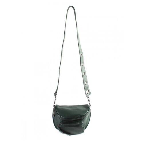 Сумка Meyninger СВ573, натуральная кожа, темно-зеленый сумка женская fiato dream 1240 темно зеленый