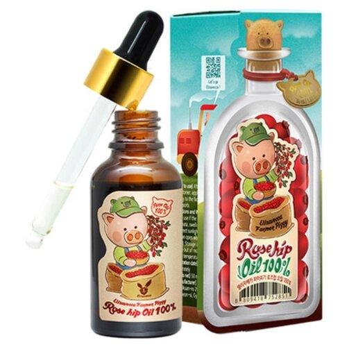 Elizavecca Farmer Piggy Rosehip Oil 100% Сыворотка для лица с маслом шиповника, 30 мл elizavecca farmer piggy argan oil 100% сыворотка для лица с аргановым маслом 30 мл