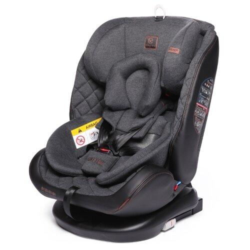Автокресло группа 0/1/2/3 (до 36 кг) Baby Care Shelter Isofix, эко-серый группа 1 2 от 9 до 25 кг baby care bc 120 isofix