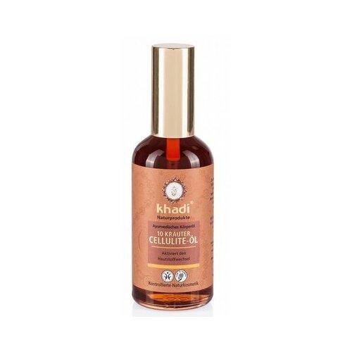 Khadi Naturprodukte масло антицеллюлитное для тела 10 растений 100 мл khadi naturprodukte pink lotus масло для лица и тела розовый лотос 10 мл