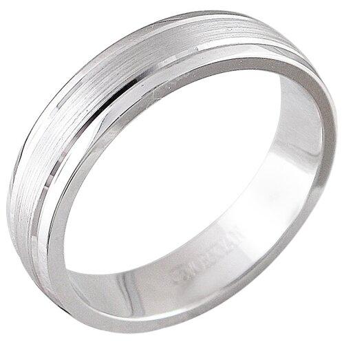 Эстет Обручальное кольцо из белого золота 01О020362, размер 20 ЭСТЕТ