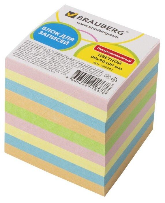 BRAUBERG Блок для записей непроклеенный 9х9 см (122341)