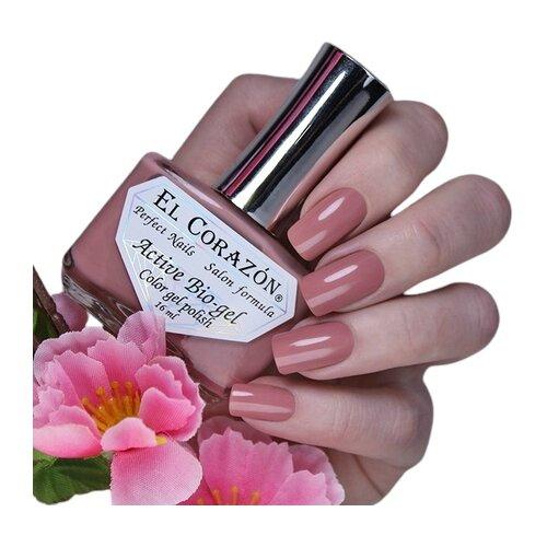 Гель El Corazon Active Bio-gel polish Cream, 16 мл, 423/342 chi luxury black seed oil curl defining cream gel