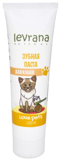 Зубная паста Levrana для кошек 100 мл