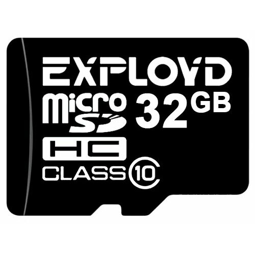 Фото - Карта памяти EXPLOYD microSDHC Class 10 32GB карта памяти kingston microsdhc 32gb microsdxc class 10 sdcs2 32gb