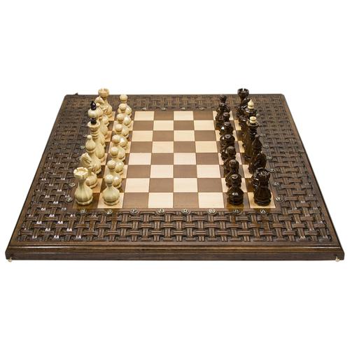 цена на Haleyan Шахматы+нарды резные Армянский Орнамент 60