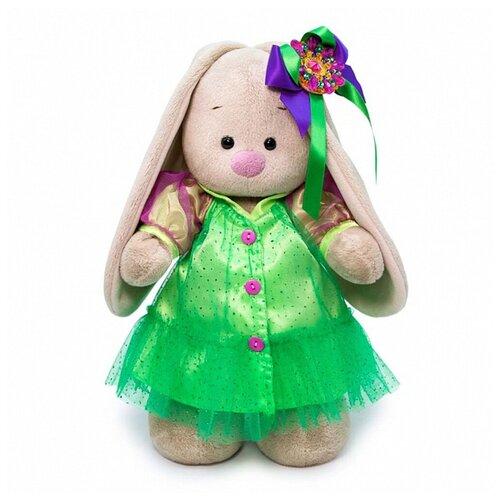 Купить Budi Basa Мягкая игрушка Зайка Ми Лаймовый изумруд, 25 см, BUDI BASA collection, Мягкие игрушки