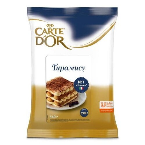 Фото - Смесь для десерта Carte D'or Тирамису 540 г смесь для десерта newa nutrition пудинг шоколадный вкус 150 г