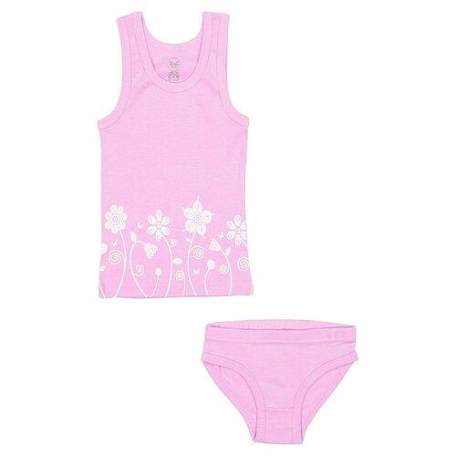 Купить Комплект нижнего белья RuZ Kids размер 140-146, лиловый, Белье и купальники