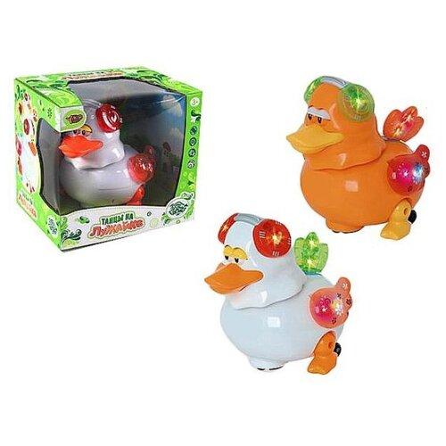 Купить Интерактивная игрушка Наша Игрушка Утенок э/ф, свет, звук, движения (M8921-1), Наша игрушка, Развивающие игрушки