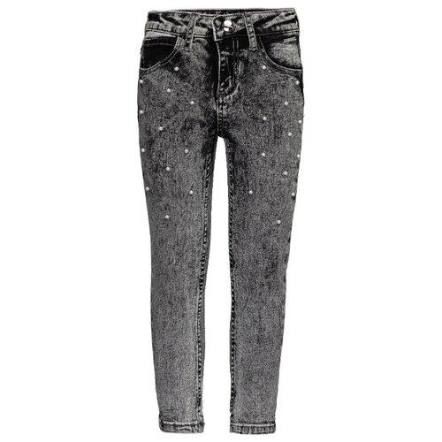 Джинсы Gulliver размер 128, серый джинсы gulliver размер 170 серый