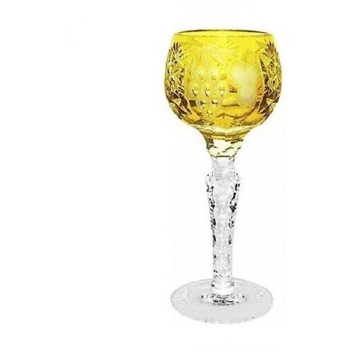 Рюмка Ajka Crystal Grape Amber, 60 мл рюмка ajka crystal st louis reseda 70 мл