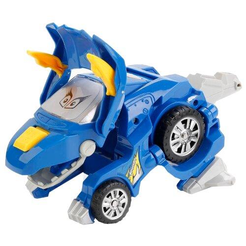 Купить Трансформер Play Smart Мой динозавр 1286-1 синий, Роботы и трансформеры