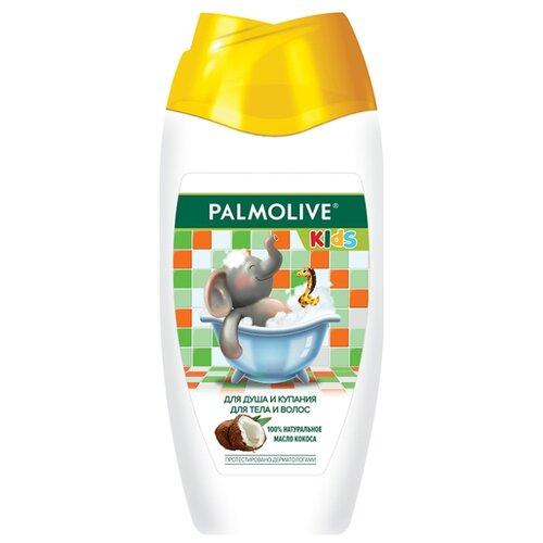Купить Palmolive Гель для душа и купания с кокосом 250 мл, Средства для купания