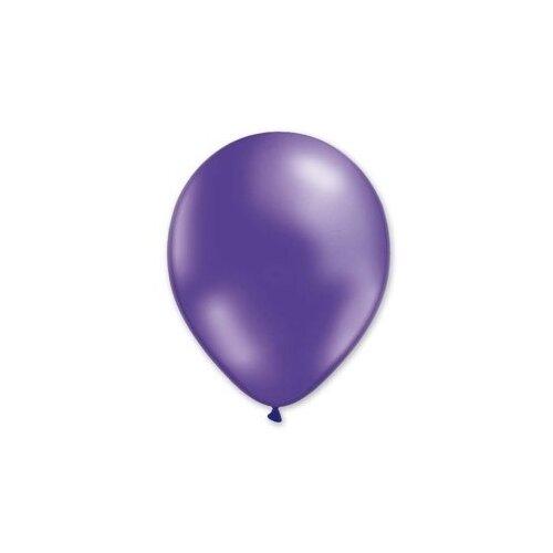 Набор воздушных шаров MILAND Металлик 21 см (100 шт.) фиолетовый