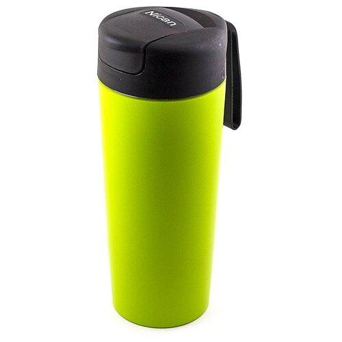 Термостакан непроливайка FixMug зеленая Эврика
