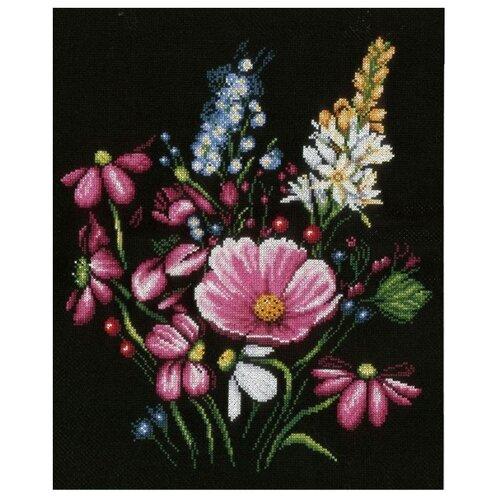 Купить Lanarte Набор для вышивания Букет 31 х 36 см (0165380-PN), Наборы для вышивания