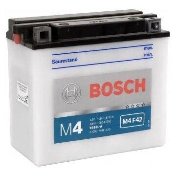 Мото аккумулятор Bosch M4 F42 (0 092 M4F 420)