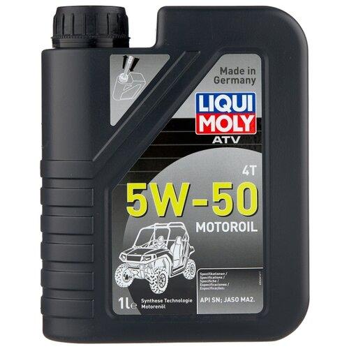 цена на Моторное масло LIQUI MOLY ATV 4T Motoroil 5W-50 1 л