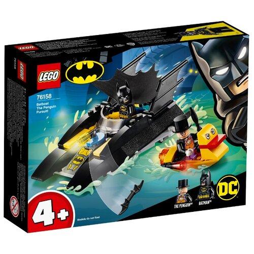 Конструктор LEGO DC Comics Super Heroes 76158 Погоня за Пингвином на Бэткатере конструктор lego dc super hero girls харли квинн спешит на помощь 41231